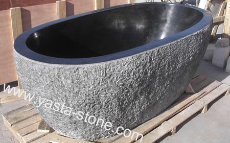 Granite Bathtub G684 Black Granite Bathtub China Stone