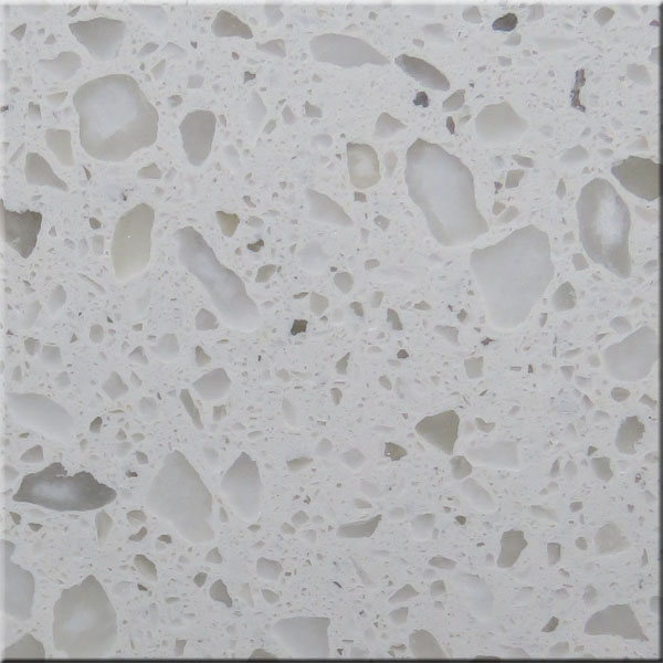 White Crushed Stone : White crushed stone artifical flooring tiles