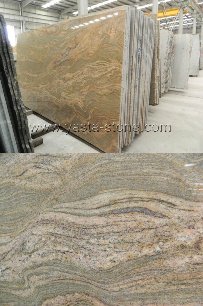 Juparana Colombo Granite Small Slab,Professional Granite Slabs Supplier