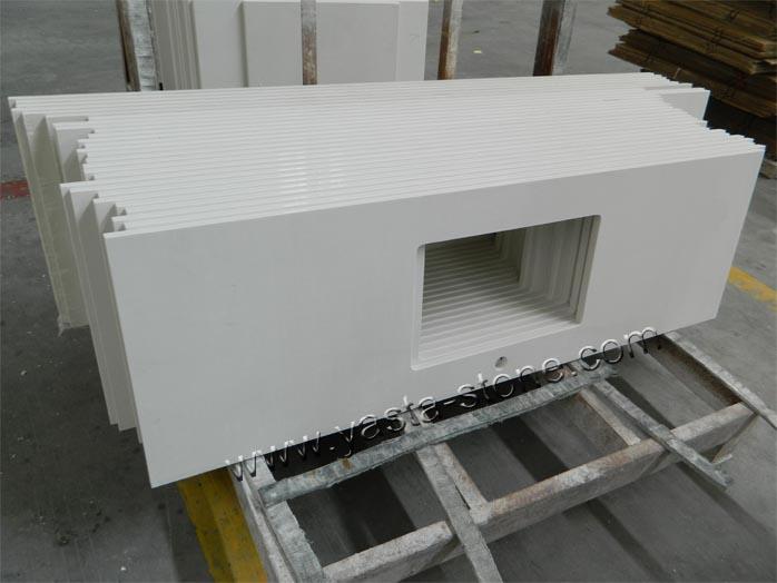 White Quartz Countertops Great Sparkling White Quartz