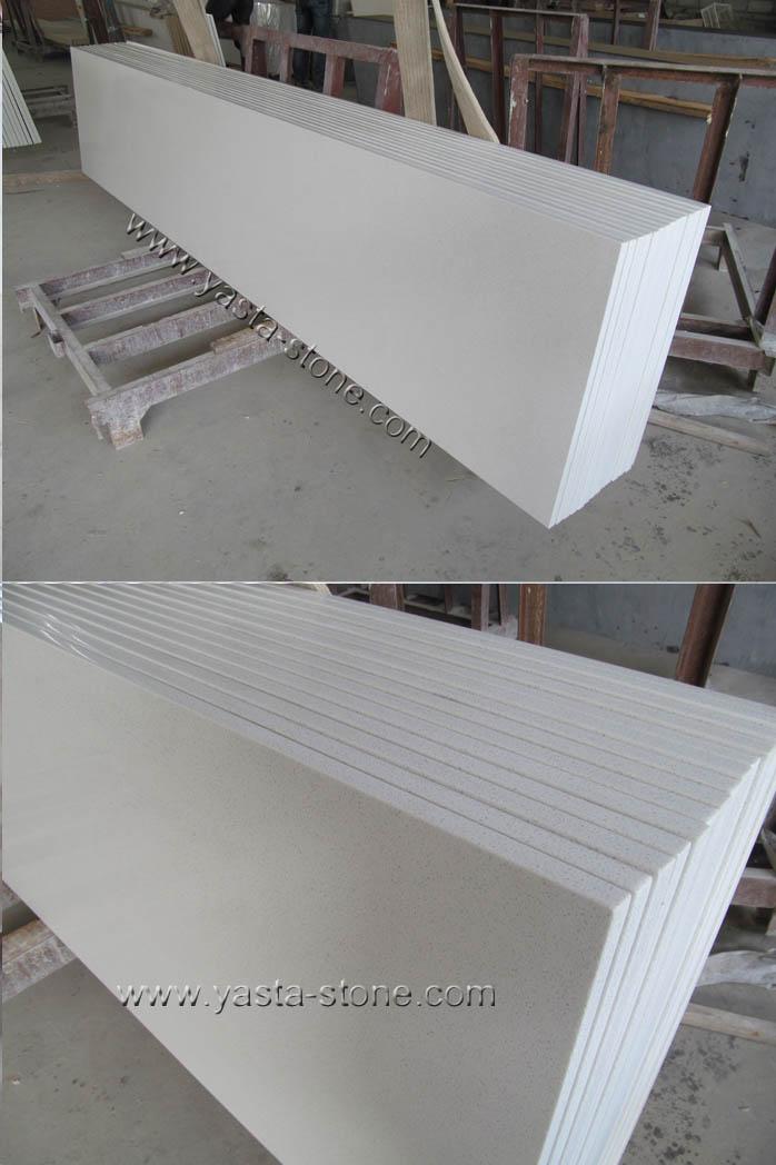 China prefab white quartz countertops manmade quartz for Quartz countertop slab dimensions