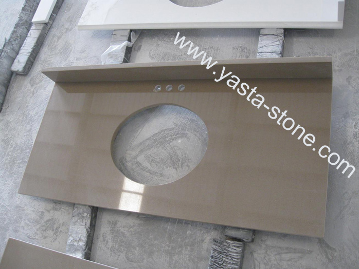 Quartz Vanity Tops : ... Vanity Tops,Quartz Vanity Tops,Engineered Quartz Stone Vanity Tops