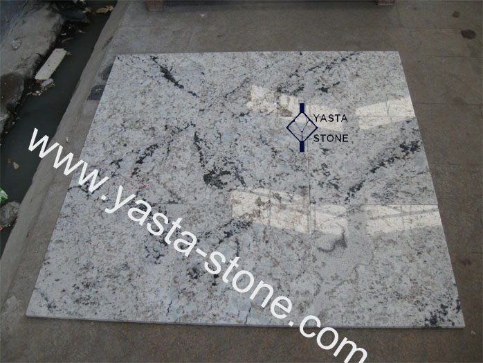 Snow White Granite Tiles Slabs Cut To Size Directly From