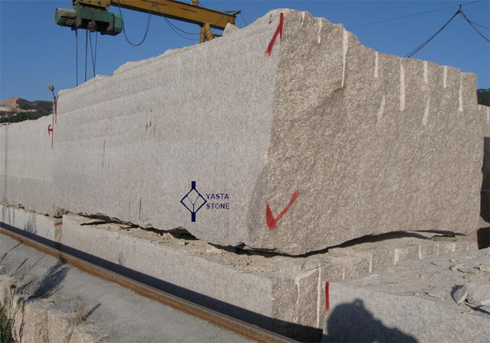 Granite Stone Blocks : Stone block large size granite blocks red